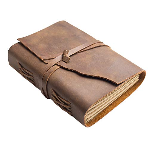 Distressed Faux Leather (Vintage Leder Journal)