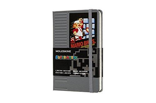 Super Mario carnet poche ligne cartridge par  Moleskine