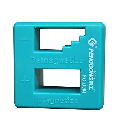 Gfone Multifunktionales magnetisches Schraubenzieher-Magnetisierer-Entmagnetisierungs-Werkzeug Sicherungen