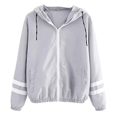 Leicht Jacke Damen,Innerternet Frauen Übergangsjacke Jacke