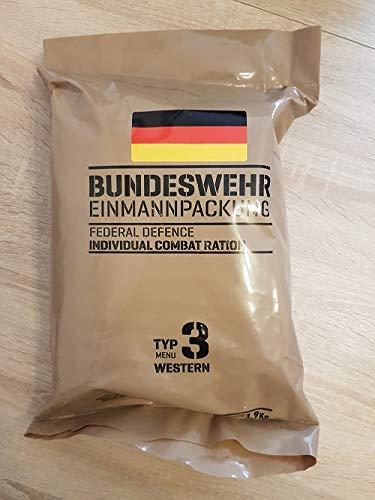Armee Bundeswehr EPA Western 3 BW MRE EINMANNPACKUNG Camping Essen Food Meal