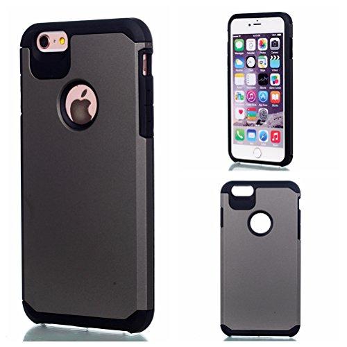 Voguecase® für Apple iPhone 7 4.7 hülle, Schutzhülle / Case / Cover / Hülle / TPU Gel Skin (macaron 03) + Gratis Universal Eingabestift 2 in 1 Einfarbig/Grau