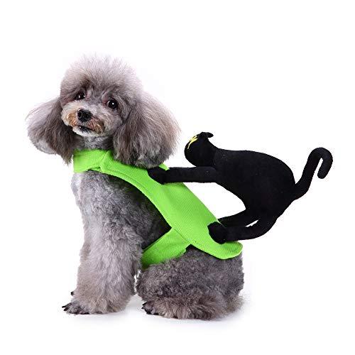 Amakunft Hund Party Kostüm, BAT Wing Pet Festival Kleid Kleidung für Halloween und Weihnachten Tag Outfit Hoodie Interessante - Hulk Kostüm Für Hunde