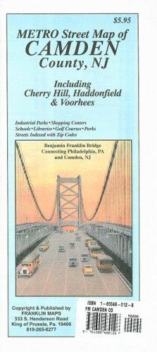 Metro Street Map of Camden County, NJ: Including Cherry Hill, Haddonfield & Voorhees