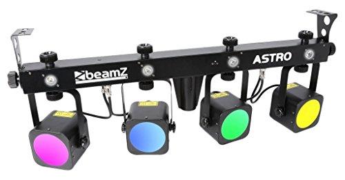 Beamz Disco 150.490und Stroboskop-Licht–Zubehör (schwarz, LED, AC, 100–240, 50/60)