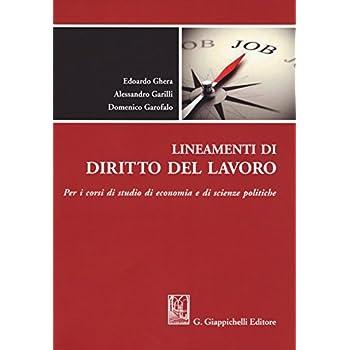 Lineamenti Di Diritto Del Lavoro. Per I Corsi Di Studio Di Economia E Di Scienze Politiche