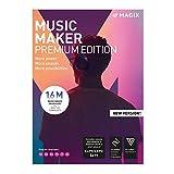 MAGIX Music Maker - 2019 Premium Edition - Unser beliebtestes Musikprogramm! Mehr Power. Mehr Loops. Mehr Möglichkeiten.   Standard   PC   PC Aktivierungscode per Email