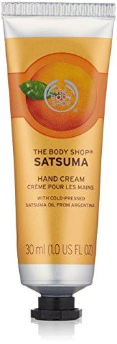The Body Shop Satsuma Hand Cream Handcreme Inhalt: 30ml Handpflege für schöne Hände.