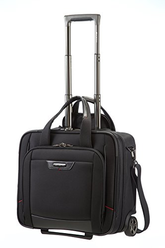 "Samsonite Pro-Dlx 4 Rolling Tote 16.4"" Trolley"