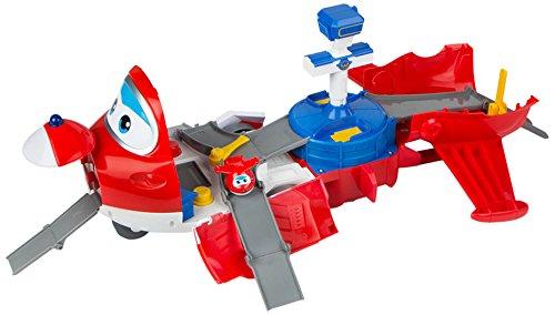 Super Wings - Jett maletín transformable en Aeropuerto (Color Baby 43976)