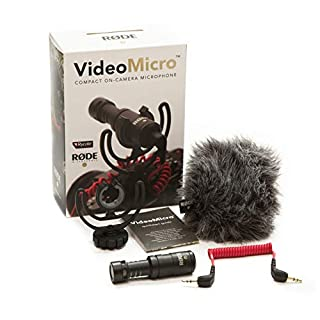 Rode VideoMicro kompakt On Camera Microphone - sortierte Farben (B015R0IQGW) | Amazon Products