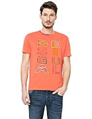 Desigual T-shirt modèle TS Inked Orangery 702961t14a7