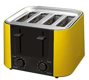 Prestige Daytona Grille pain toaster 4 fentes - jaune