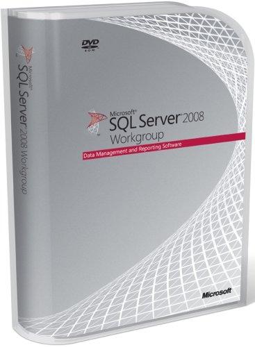 Microsoft SQL Server Workgroup Edition 2008 DVD - 5 Client (PC CD) Test