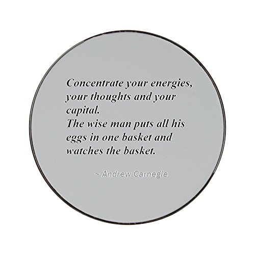 metal-round-fridge-magnet-with-concentrate-your-energies-your-thoughts-and-your-capital-the-wise-man