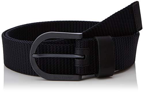 G-star Raw Accessoires (G-STAR RAW Herren Stalt Webbing Belt Gürtel, Mehrfarbig (Mazarine Blue/Black Metal 3863), 677 (Herstellergröße: 105))