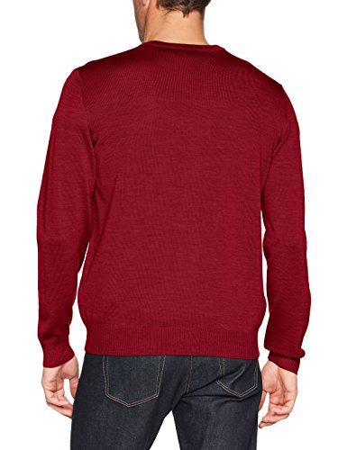 Maerz Herren Pullover 490400 Rot (Hot Pepper 482)