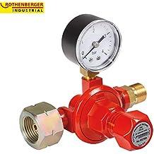 Rothenberger 032100E - Regulador de gas propano industrial (0,5-4 bar,