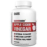 Evlution Nutrition Apple Cider Vinegar CleanseMode, 500 mg di Aceto di Sidro di Mele Puro per Aiutare la Digestione e Detox, 60 Capsule con 20mg di Pepe di Cayenna per Aiutare a Gestire il Peso