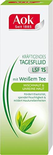 Aok Tagesfluid Mischhaut und unreine Haut Kräftigendes mit weißem Tee, 50 ml