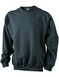 JAMES & NICHOLSON - sweat-shirt lourd - uni - JN040 - homme