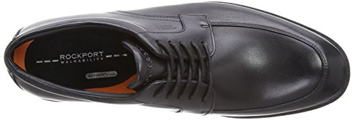 Rockport - CS Apron Toe WP, Scarpa da Uomo Nero(Schwarz (Black WP Leather))