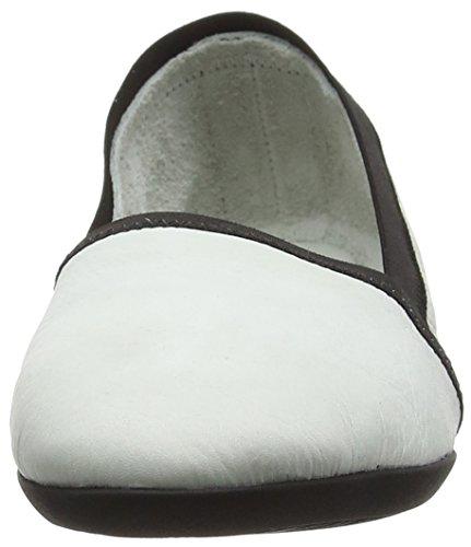 Softinos Oba373sof, Mocassins Femme Blanc (Blanc)