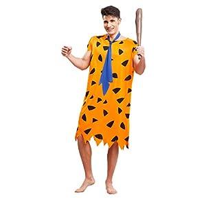 My Other Me Me-203512 Disfraz de troglodita para hombre, Color naranja, M-L (Viving Costumes 203512