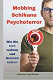 Mobbing Schikane Psychoterror: Wie Sie sich wehren und Grenzen setzen