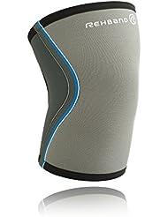 Rehband - Rodillera para hombre, color gris, talla M