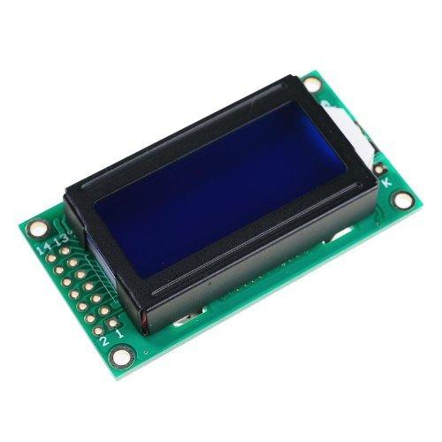 8 x 2 LCD Modul 0802 Zeichen Anzeige Bildschirm