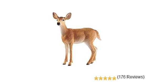 Schleich MOOSE BULL Figura Wild Life Cervo per Bambini Ragazzi Animale Figura Giocattolo Nuovo