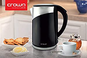 Crownline 1.8 Liter Cordless Kettle - KT-179B Black
