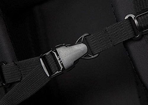 Schulterbeutelmänner Rucksack Im Freienspielraumbeutelfreizeitpaket-Computerbeutel-College-Kursteilnehmerbeutel Wasserdichte Tasche Grey
