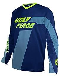 Uglyfrog Primavera&Otoño Ropa Bicicleta Descenso Manga Larga Jersey Racewear Camiseta MTB Maillot Z03
