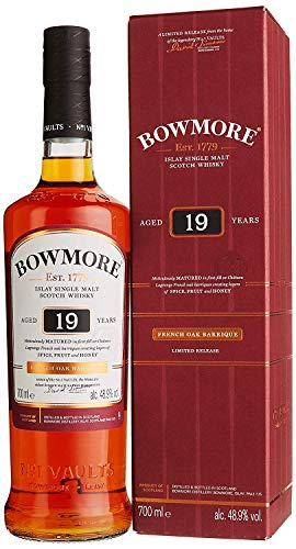 Bowmore 19 Ans Islay Single Malt Scotch Whisky (Édition...