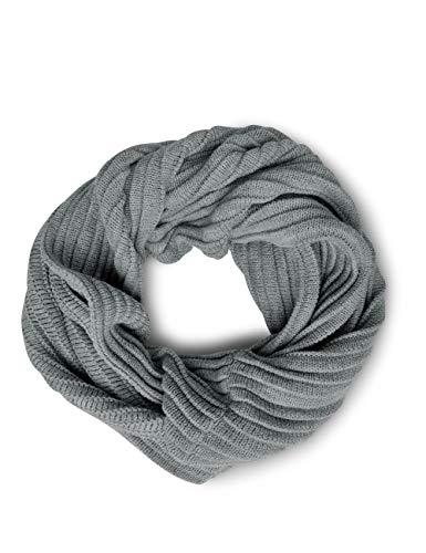 Cecil Damen B570705 Schal, Grau (mineral grey melange 10327), One Size (Herstellergröße: A)
