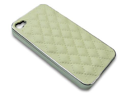 Sandberg Schaf Haut Cover für iPhone 4/4S weiß