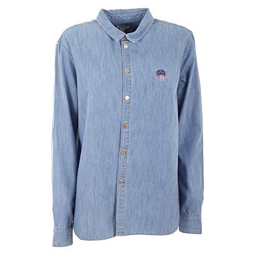 kenzo-womens-f752ch2096em67-blue-cotton-shirt
