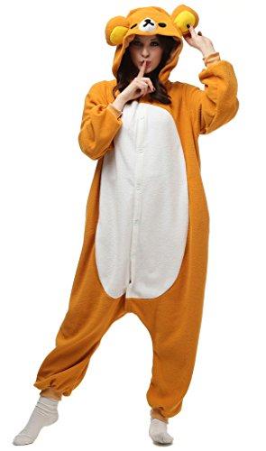 Auspicious beginning Unisex-adult Rilakkuma Cosplay-Kostüm-Karikatur-Schlafanzüge Pyjama Freizeitkleidung Lounge