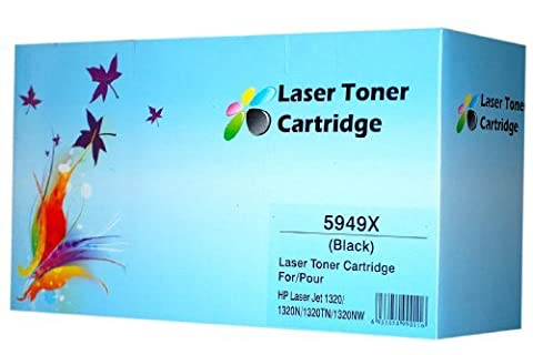 HP Q5949X 49X INKBERRY COMPATIBLE LASER TONER CARTRIDGE(BRAND NEW,DOUBLE CAPACITY)FOR HP LASERJET 1320 3390 3392 FREE