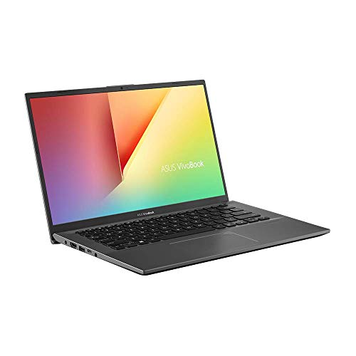 Asus VivoBook 14 F412UA (90NB0KP2-M02130) 35, 5 cm (14 Zoll, HD, matt) Notebook (Intel Core i3-7020u, 4GB RAM, 256GB SSD, Intel UHD-Grafik 620, Windows 10) Slate Grey