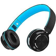 Auriculares Bluetooth Inalámbrico con Cancelación Ruido, MeihuaTu Sobre oreja Audífonos estéreo de Hifi con micrófono