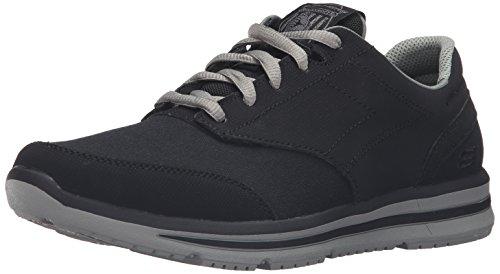 skechers-doren-mercier-mens-black-nubuck-athletic-lace-up-shoes-11