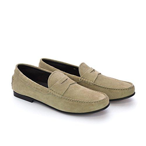 tods-mens-loafer-flats-beige-rope-beige-size-8-uk