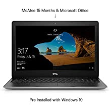 Dell Inspiron 3593 15.6-inch FHD Laptop (10th Gen Core i3-1005G1/8GB/1TB HDD/Windows 10 Home + MS Office/Intel HD Graphics), Platinum Silver