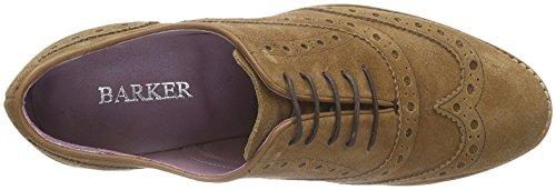BARKER  Sloane, Chaussures de ville à lacets pour femme Marron