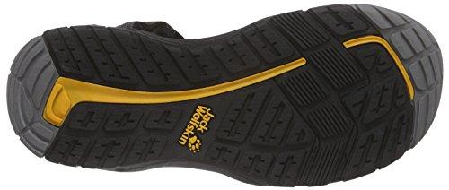 Jack Wolfskin Herren Lakewood Ride Sandal M Sport-& Outdoor Grau (burly yellow 3800)