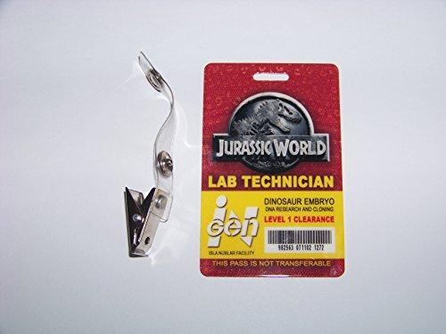 Kostüm Park Ranger - Jurassic World - LAB Technician , ID - Karte , ID Badge