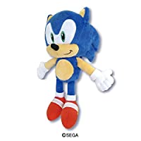 Sonic The Hedgehog Plush S, Collector Plush, SK Japan: 10.6 x 4.5 x 5.7""